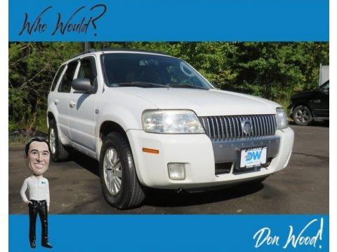 Oxford White 2006 Mercury Mariner Luxury 4WD