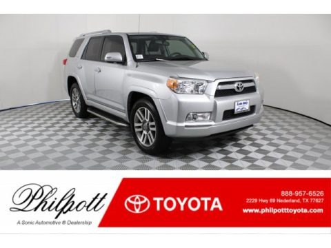 Classic Silver Metallic 2013 Toyota 4Runner Limited
