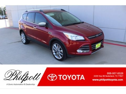 Ruby Red 2014 Ford Escape SE 1.6L EcoBoost