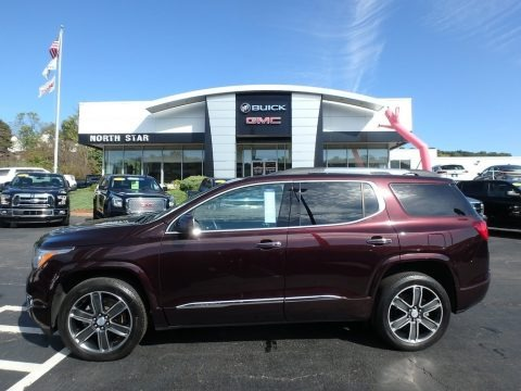 Black Cherry Metallic 2017 GMC Acadia Denali AWD