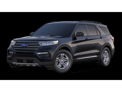 Agate Black Metallic 2020 Ford Explorer XLT 4WD
