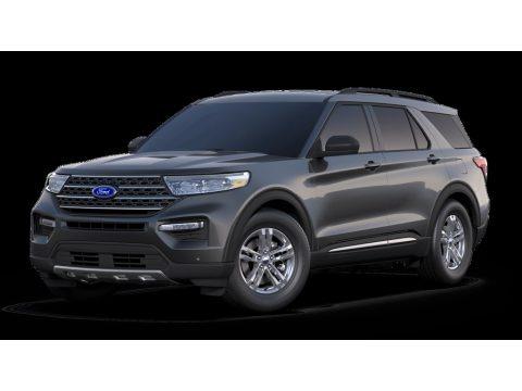 Magnetic Metallic 2020 Ford Explorer XLT 4WD