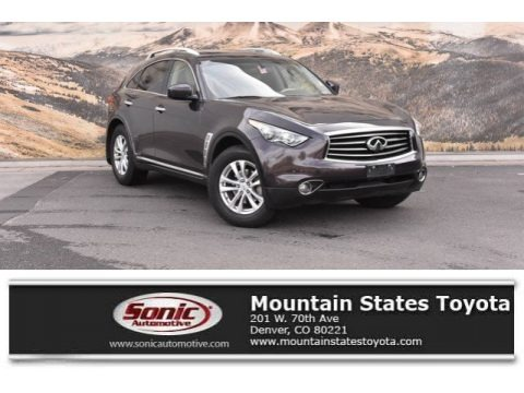 Midnight Mocha 2013 Infiniti FX 37 AWD
