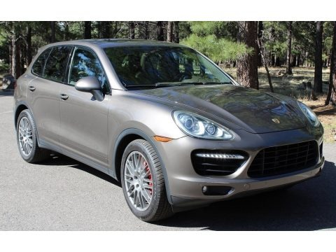 Umber Brown Metallic 2011 Porsche Cayenne Turbo