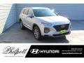 Hyundai Santa Fe SE Shimmering Silver Pearl photo #1
