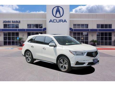 White Diamond Pearl 2017 Acura MDX