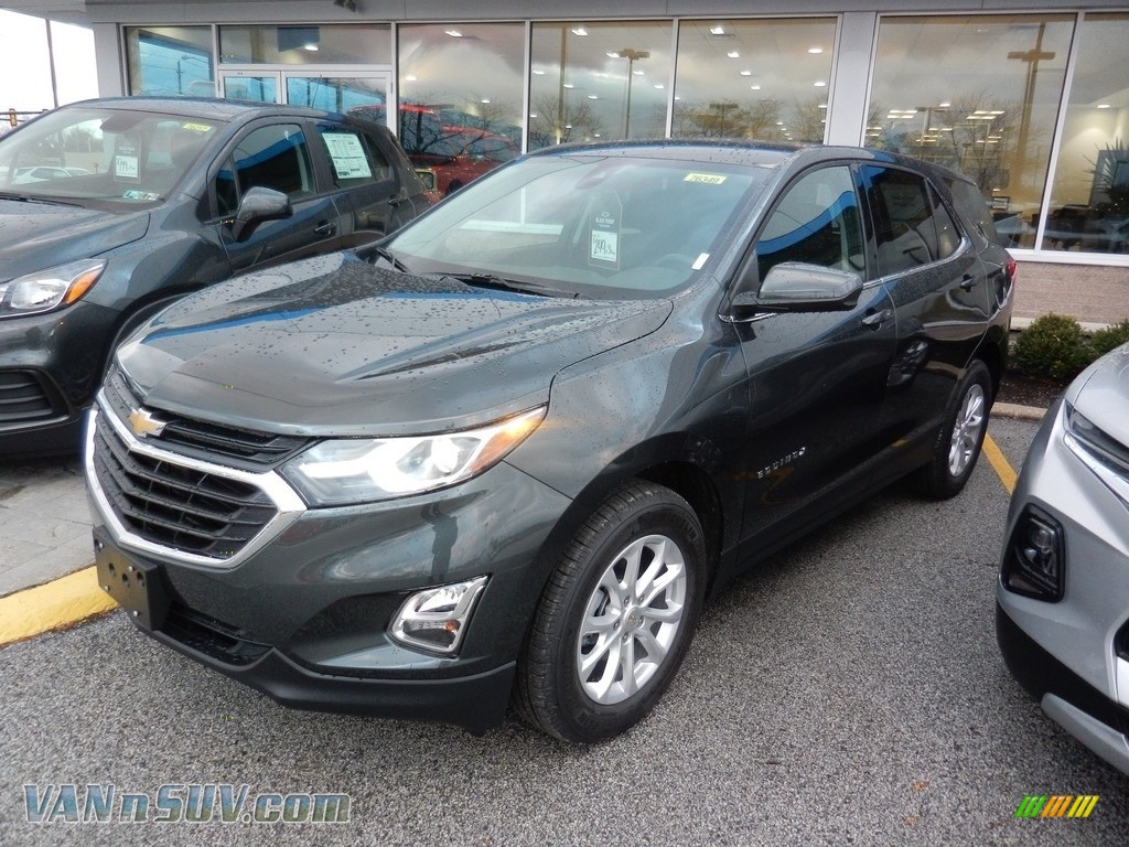 Nightfall Gray Metallic / Jet Black Chevrolet Equinox LT