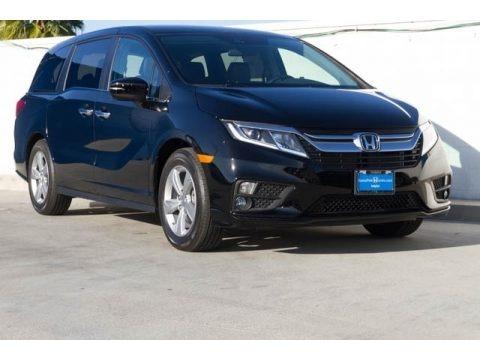 Obsidian Blue Pearl 2020 Honda Odyssey EX