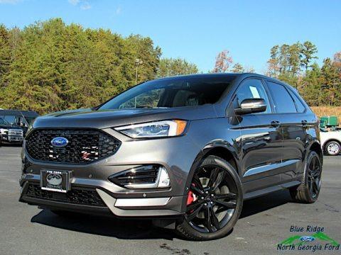 Magnetic Metallic 2020 Ford Edge ST AWD