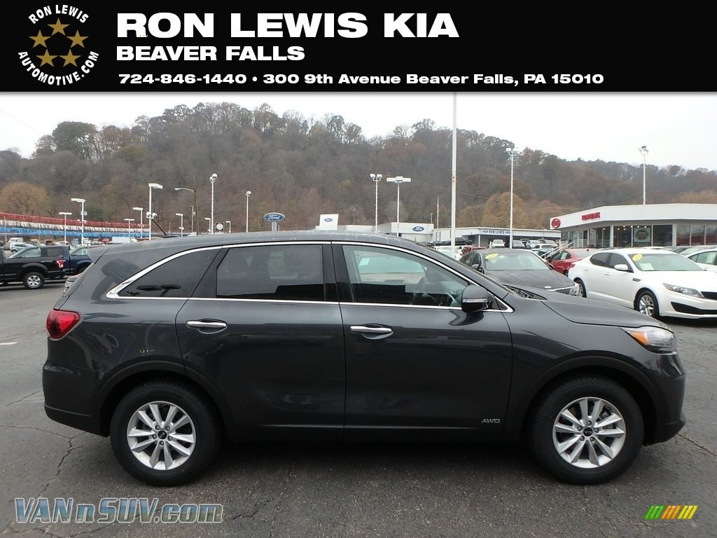 2020 Sorento LX AWD - Gravity Gray / Black photo #1