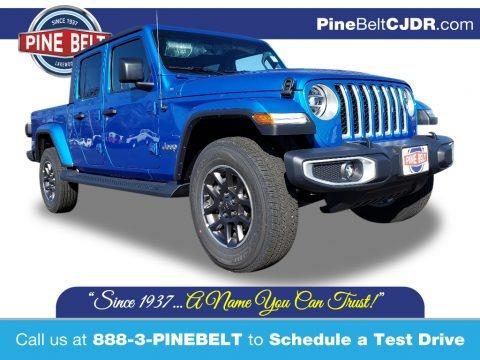 Hydro Blue Pearl 2020 Jeep Gladiator Overland 4x4