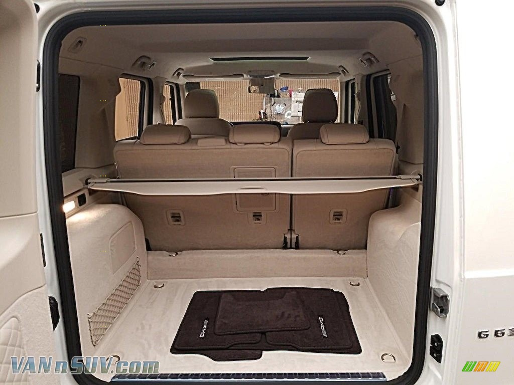 2020 G 63 AMG - designo Diamond White Metallic / designo Macchiato Beige/Espresso Brown photo #9