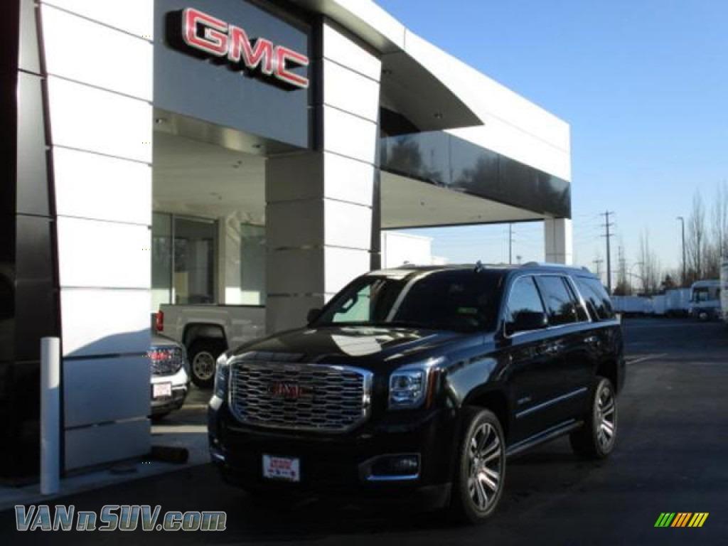 2020 Yukon Denali 4WD - Onyx Black / Jet Black photo #1