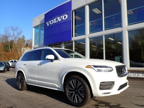 Crystal White Metallic 2020 Volvo XC90 T5 AWD Momentum