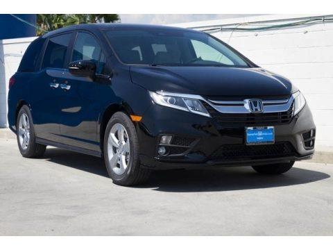 Crystal Black Pearl 2020 Honda Odyssey EX-L