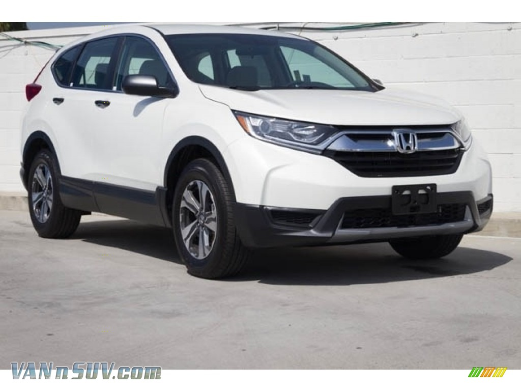 2019 CR-V LX - Platinum White Pearl / Ivory photo #1