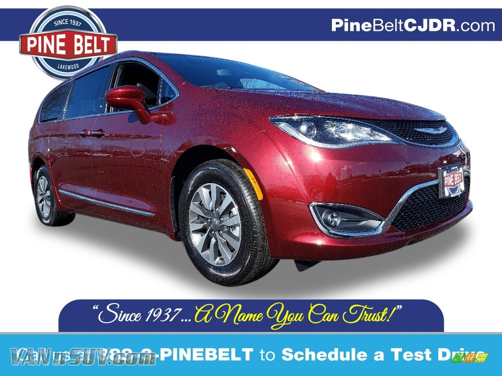 2020 Pacifica Touring L Plus - Velvet Red Pearl / Black photo #1