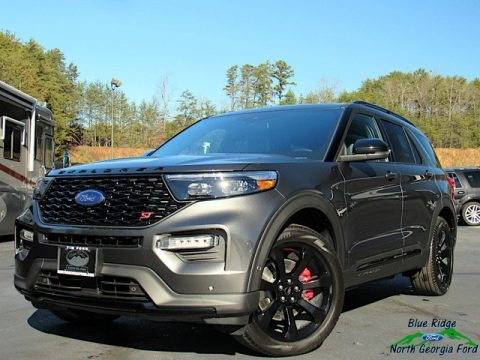 Magnetic Metallic 2020 Ford Explorer ST 4WD