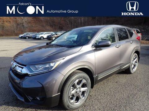 Modern Steel Metallic 2019 Honda CR-V EX AWD