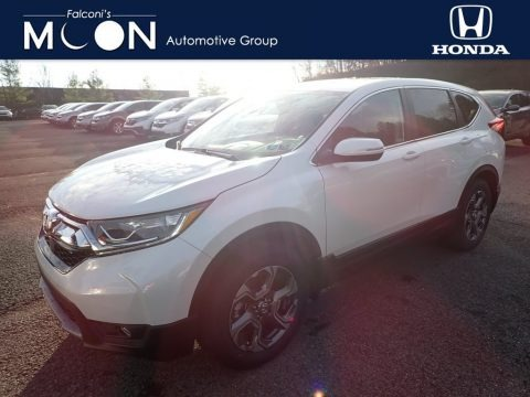 Platinum White Pearl 2019 Honda CR-V EX AWD