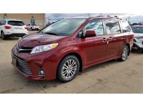 Salsa Red Pearl 2020 Toyota Sienna XLE