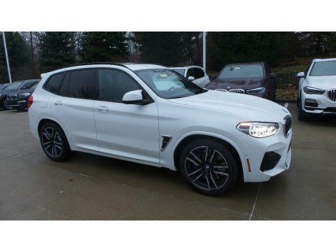 Alpine White 2020 BMW X3 M Competition