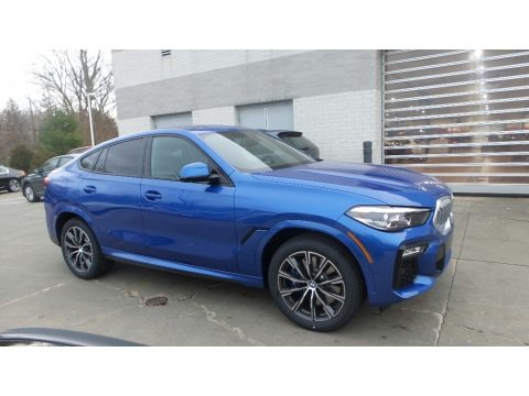 Riverside Blue Metallic 2020 BMW X6 xDrive40i