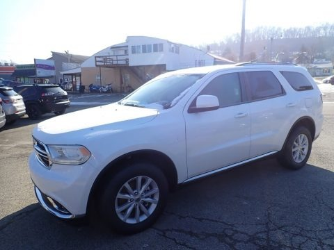 Vice White 2020 Dodge Durango SXT AWD