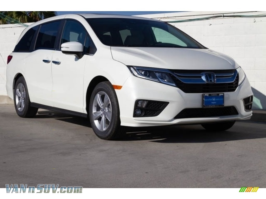 2020 Odyssey EX-L - Platinum White Pearl / Beige photo #1