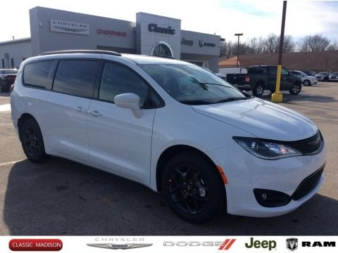 Bright White 2020 Chrysler Pacifica Touring L Plus