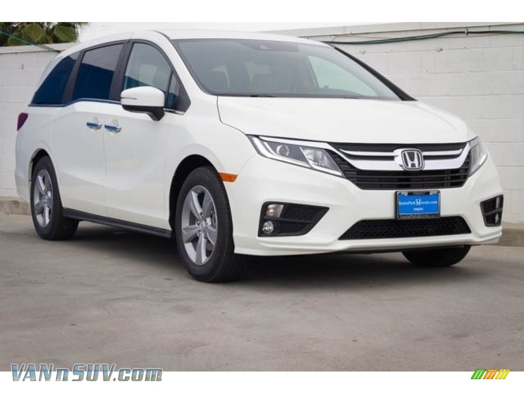 2020 Odyssey EX - Platinum White Pearl / Beige photo #1