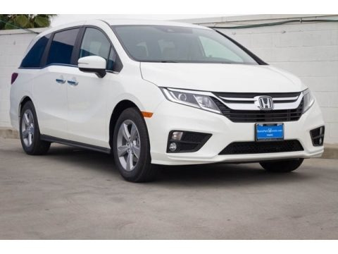 Platinum White Pearl 2020 Honda Odyssey EX