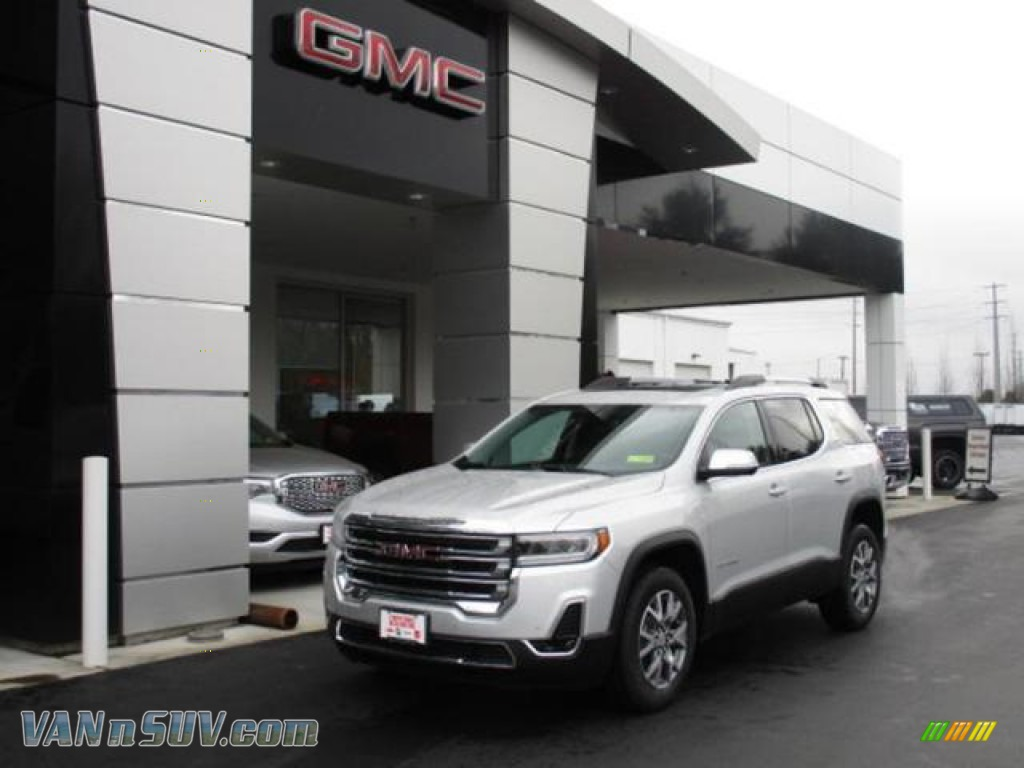 2020 Acadia SLT AWD - Quicksilver Metallic / Jet Black photo #1