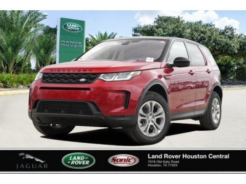 Firenze Red Metallic 2020 Land Rover Discovery Sport S