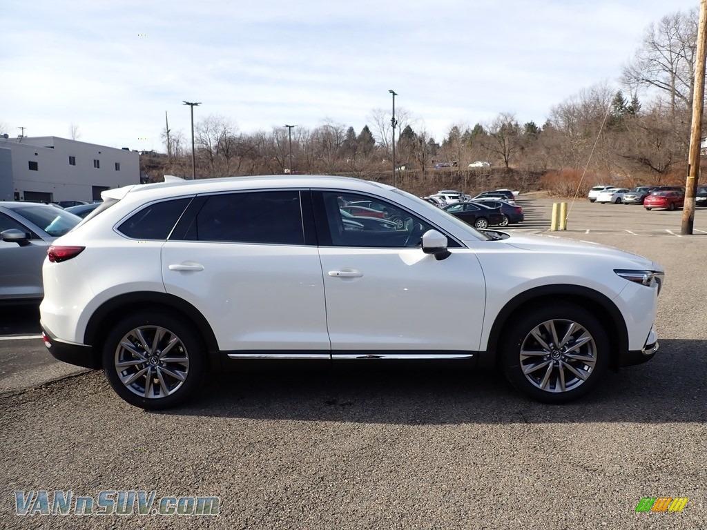 2020 CX-9 Grand Touring AWD - Snowflake White Pearl Mica / Black photo #1