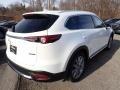 Mazda CX-9 Grand Touring AWD Snowflake White Pearl Mica photo #2