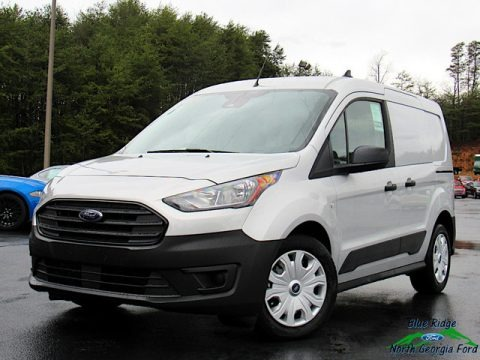 Ingot Silver Metallic 2020 Ford Transit Connect XL Van
