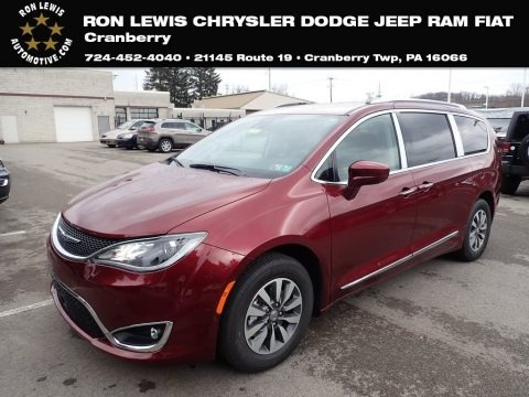 Velvet Red Pearl 2020 Chrysler Pacifica Touring L Plus