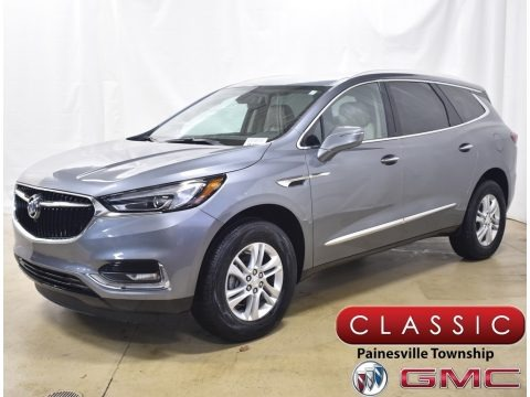 Satin Steel Metallic 2020 Buick Enclave Essence