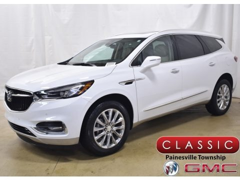 Summit White 2020 Buick Enclave Premium AWD