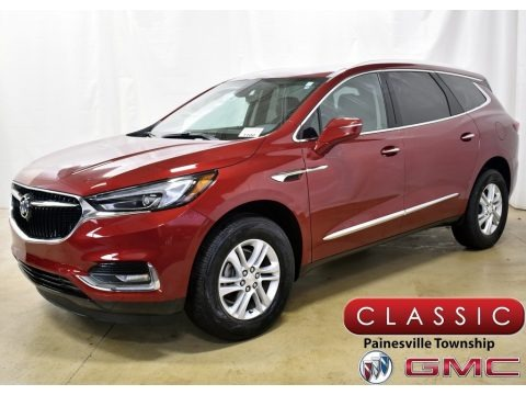 Red Quartz Tintcoat 2020 Buick Enclave Essence