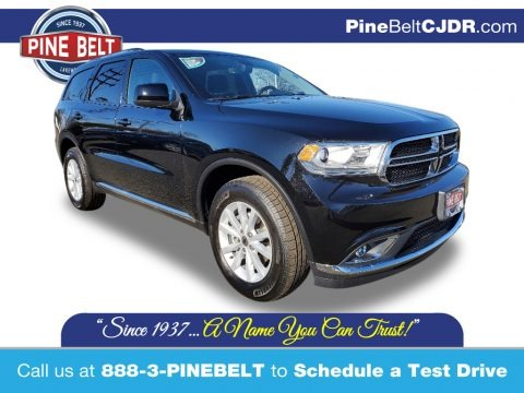DB Black 2020 Dodge Durango SXT AWD