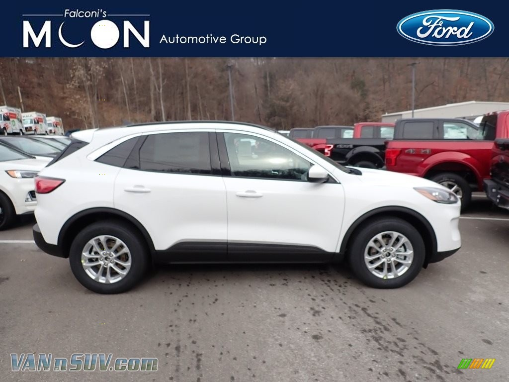 2020 Escape SE 4WD - Oxford White / Dark Earth Gray photo #1