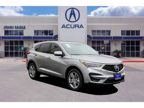Lunar Silver Metallic 2020 Acura RDX Advance AWD