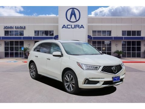 Lunar Silver Metallic 2020 Acura MDX Advance AWD
