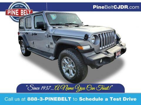 Billet Silver Metallic 2020 Jeep Wrangler Unlimited Sport 4x4