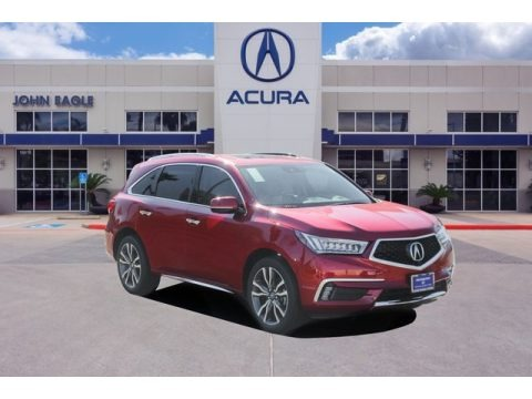 Performance Red Pearl 2020 Acura MDX Advance AWD