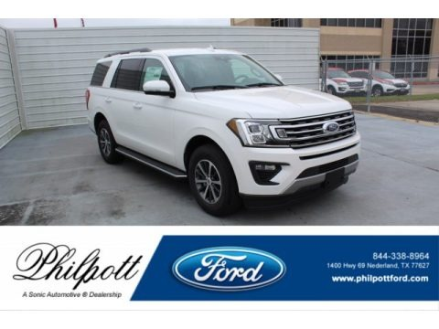 Star White 2020 Ford Expedition XLT