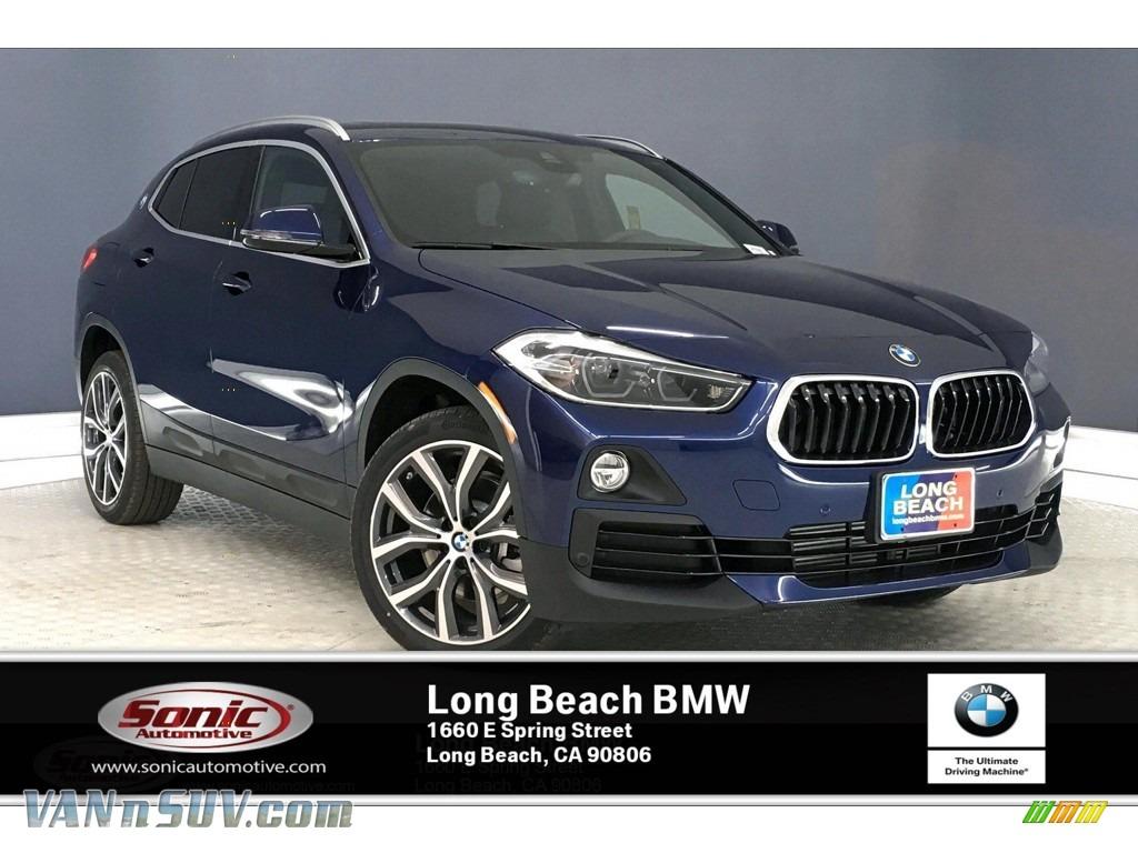2020 X2 sDrive28i - Mediterranean Blue Metallic / Black photo #1