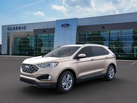 Desert Gold Metallic 2020 Ford Edge SEL
